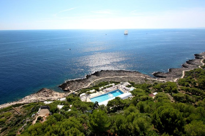 The Mediterranean from Grand- Hotel du Cap- Ferrat