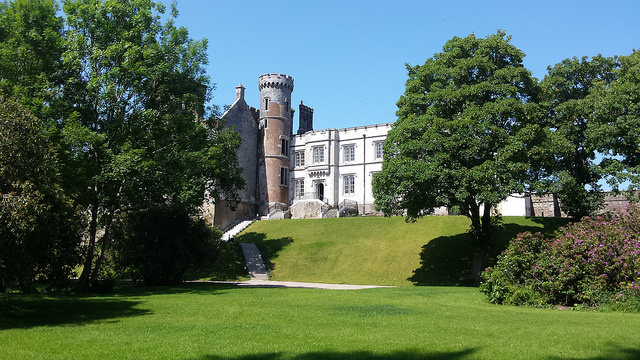irish wedding venues with gardens Wilton castle