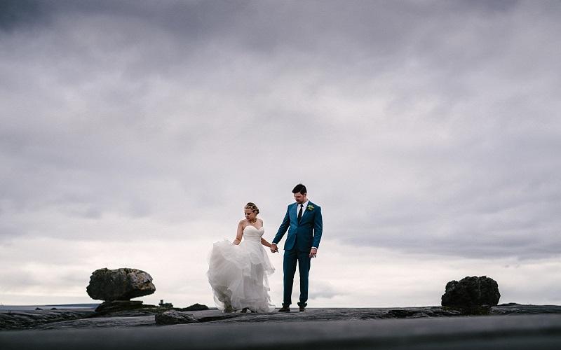 Cliffs of Moher wedding 10