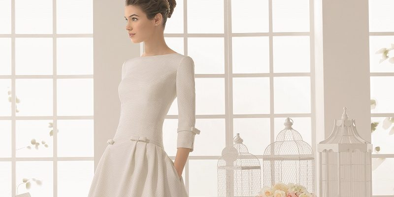 wedding dresses with high necks 9