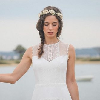 polka dot wedding dress 10
