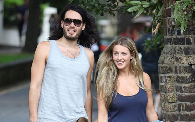 Russell Brand Pops The Question To Pregnant Girlfriend