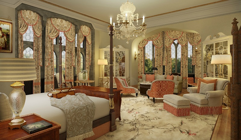 romantic hotels ireland Adare manor
