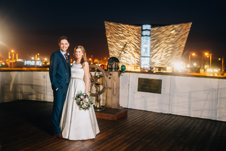 Alternative wedding venue SS Nomadic