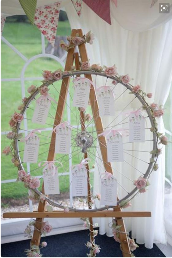 bike wheel table plan Hitched.co.uk
