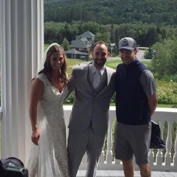 Justin Timberlake crashes wedding