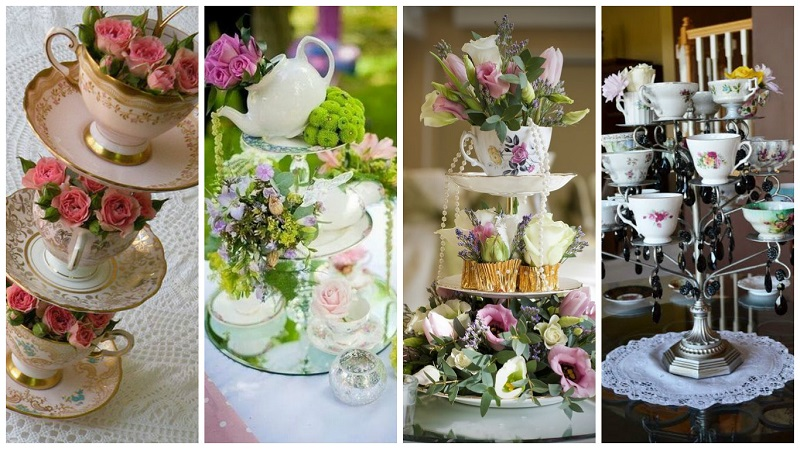 Alice in Wonderland themed wedding 3