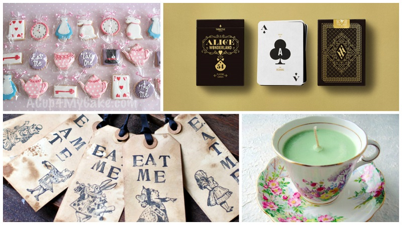 Alice in Wonderland themed wedding 5