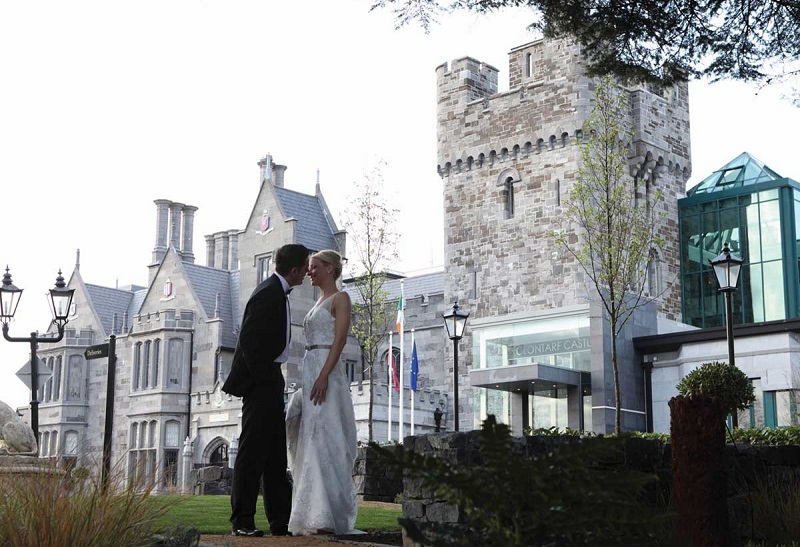 fairytale venue Clontarf castle