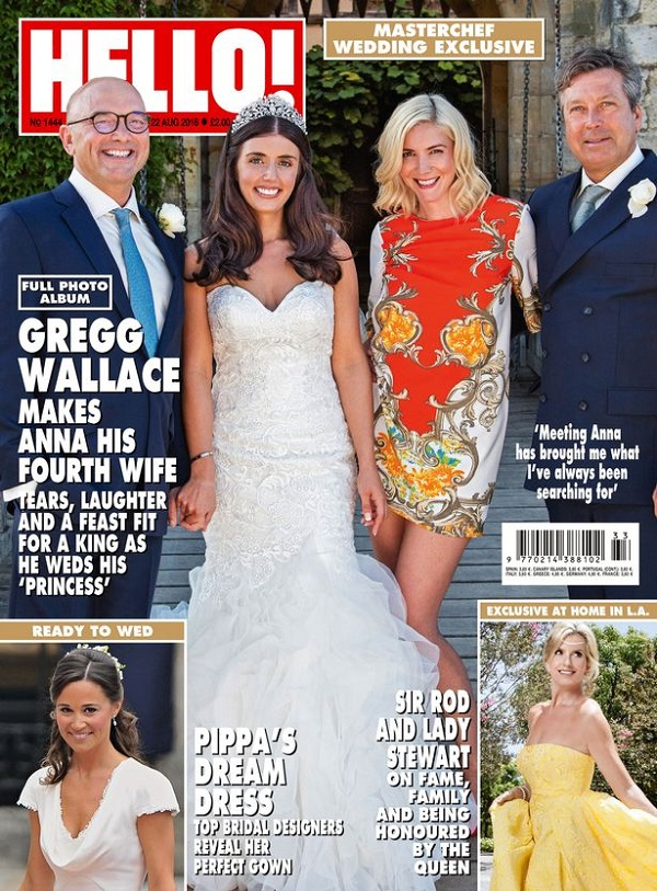 Gregg Wallace gets married 3