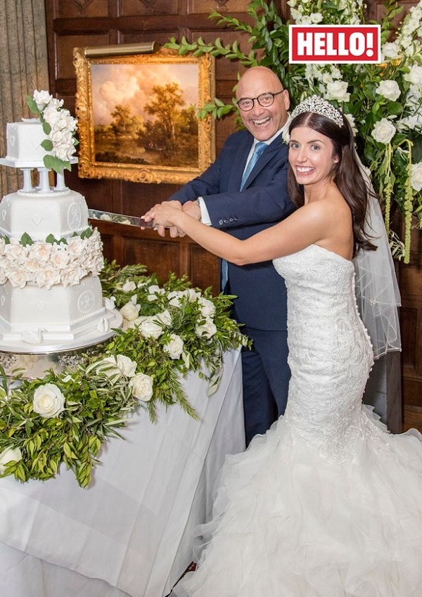 Gregg Wallace gets married