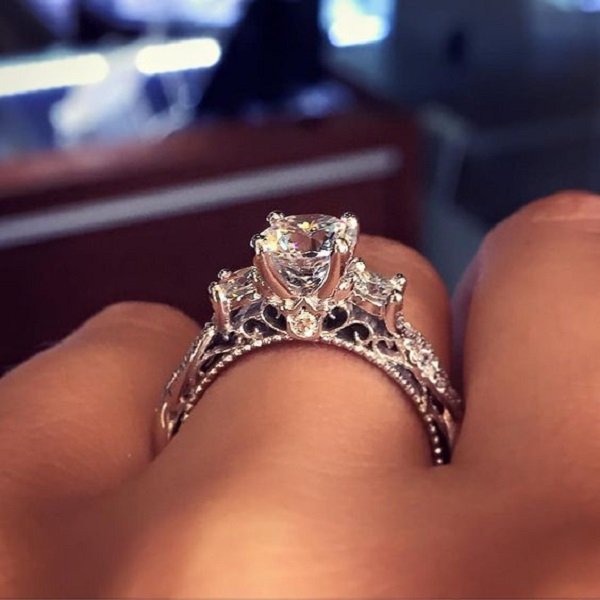 most pinned engagement ring