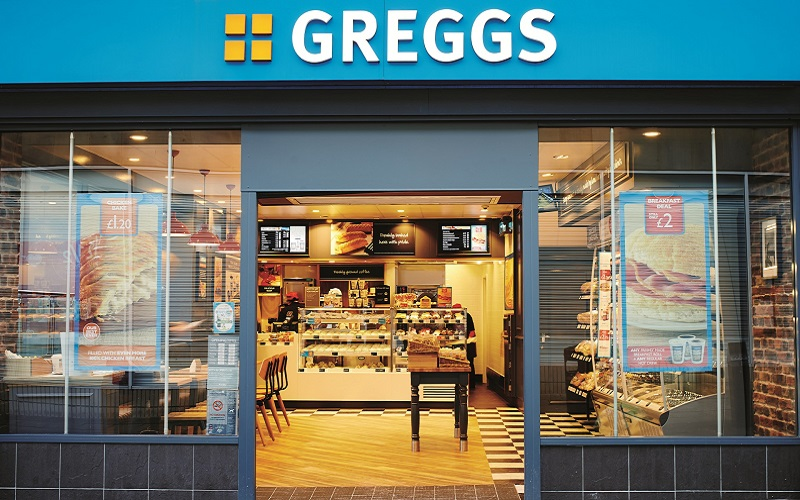 Greggs themed wedding