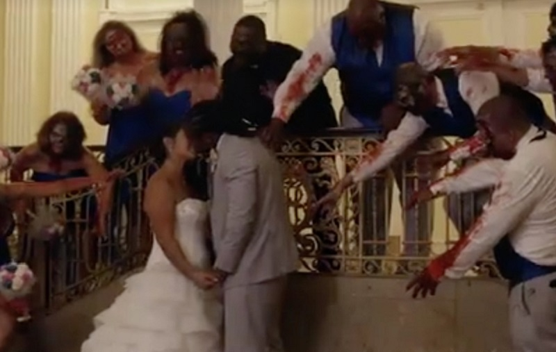 Walking Dead wedding 3