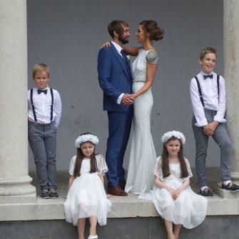 Tara O'Farrell's wedding
