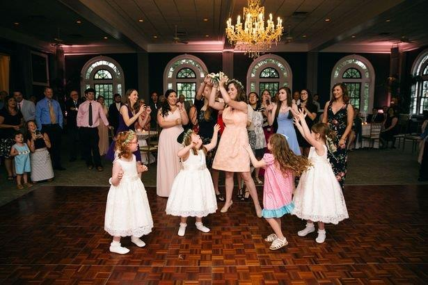 teacher has entire class in bridal party 5
