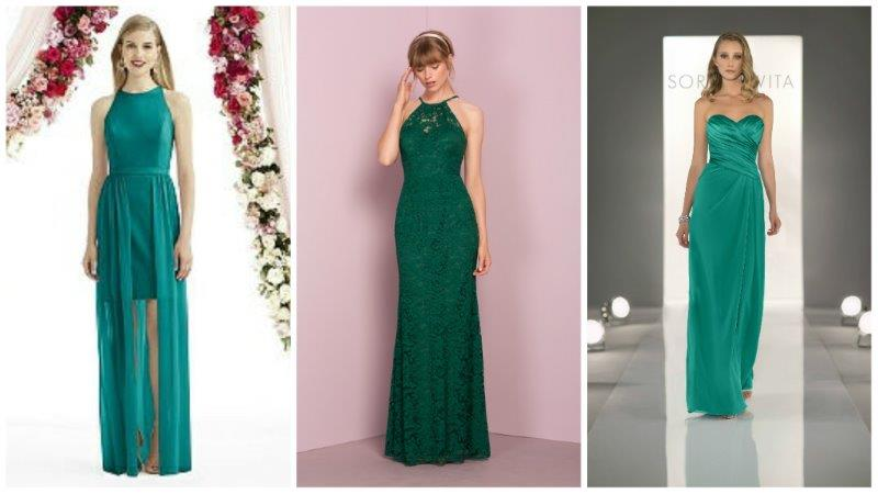 jewel bridesmaid dresses