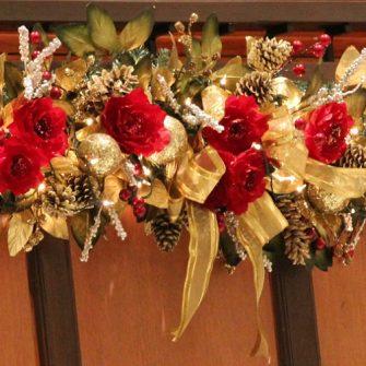 bridal christmas photographs