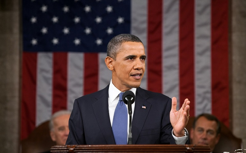 President Obama was a groomsman