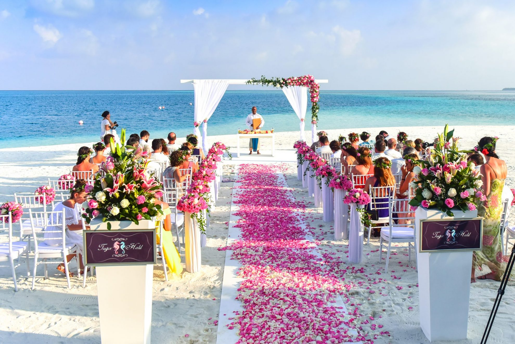 wedding aisle, ceremony, floral, romantic