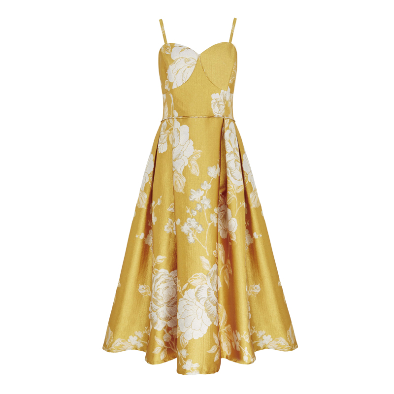 Yellow Prom Dress,  M&S