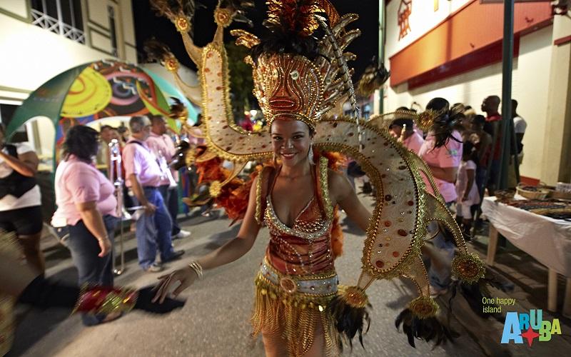 Aruba dancers