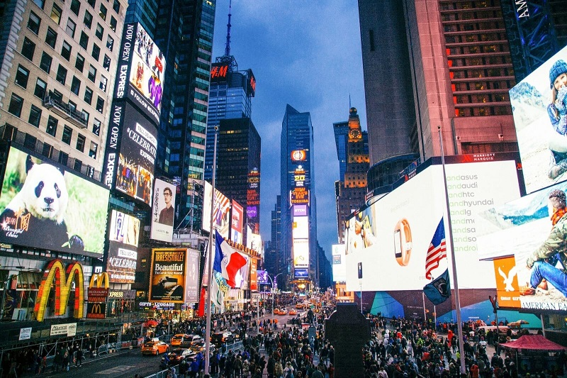 Times Square New York Honeymoons