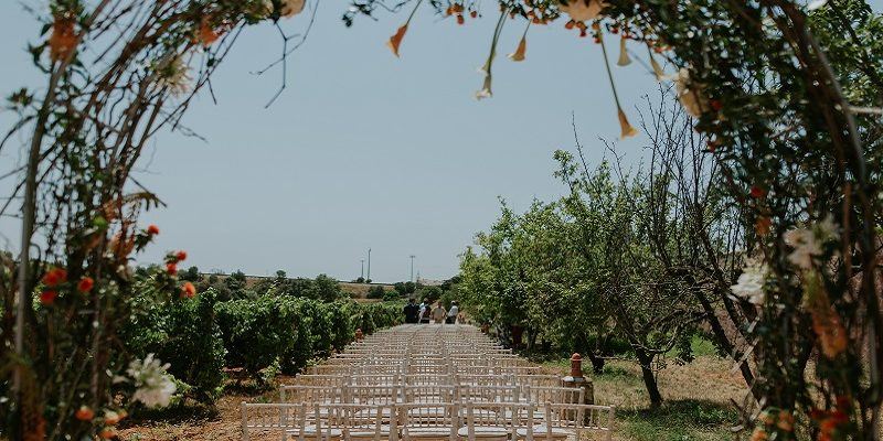 Algarve wedding ceremony