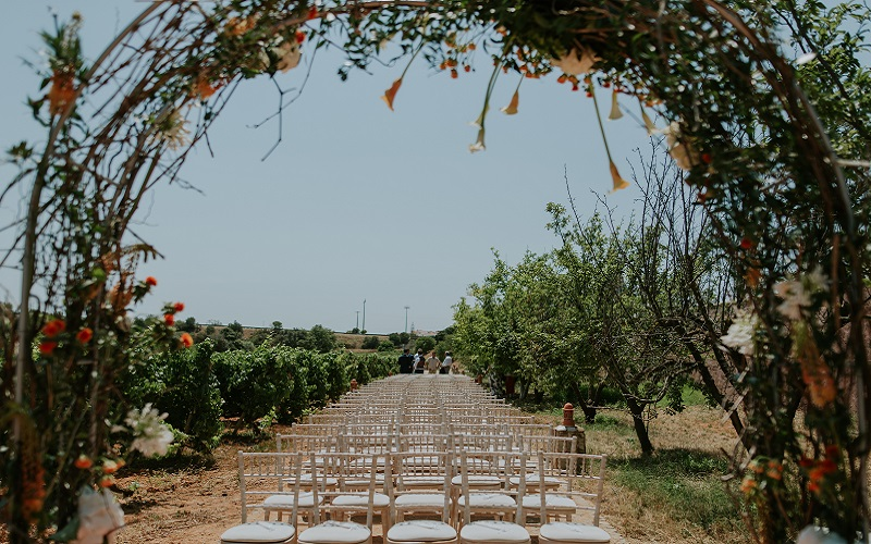 Algarve wedding ceremony