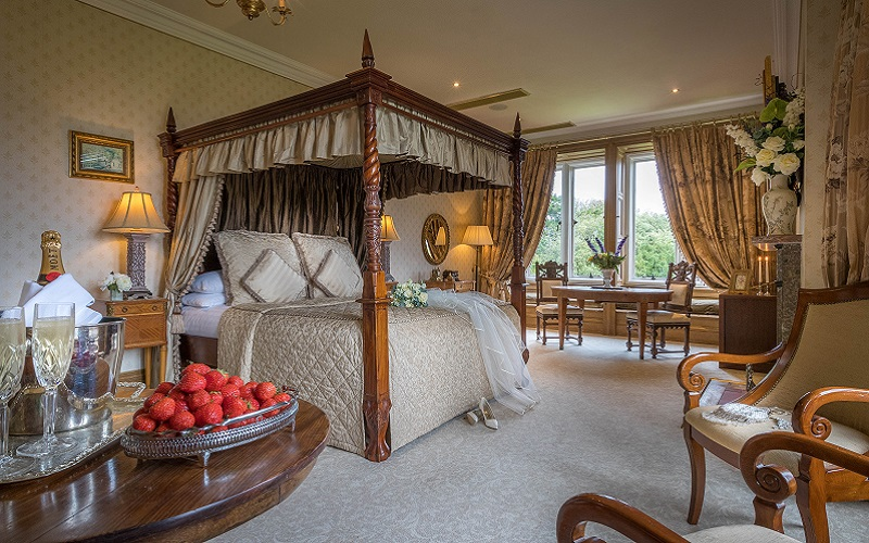 Lough Rynn bedroom