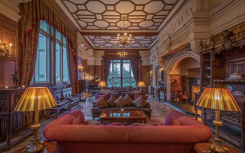 Lough Rynn interiors
