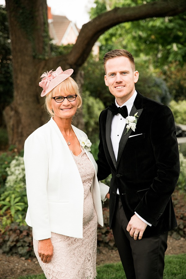 groom and mother of the groom