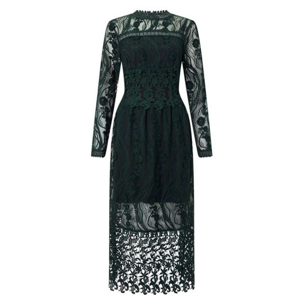Lace Midi Dress, £120, Miss Selfridge
