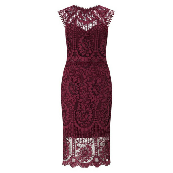 Lace Midi Dress, £125, Lipsy VIP