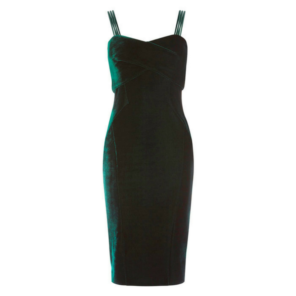 Scarlett Velvet Dress, £129, Coast