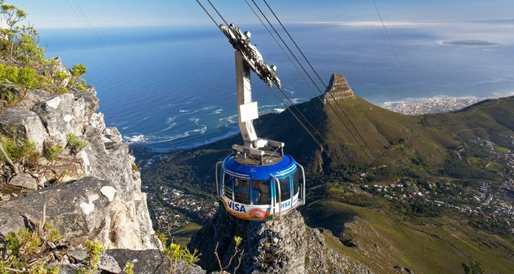 Cable Car in Cape Town