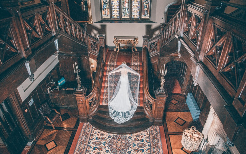 A Fairy Tale Wedding at Markree Castle