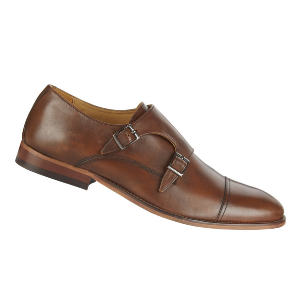 Leather Monk Shoes, £55/€69, Next