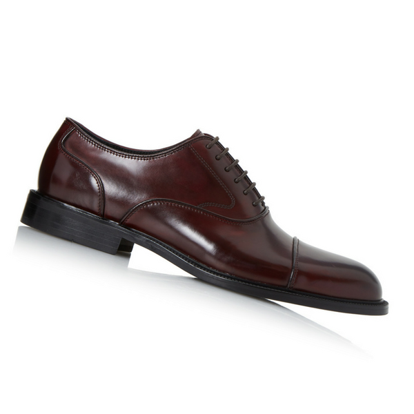 Burgundy Priest Oxford Shoe, £125/€165