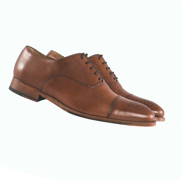 Mezlan Brown Formal Shoe, £168/€189, Louis Copeland
