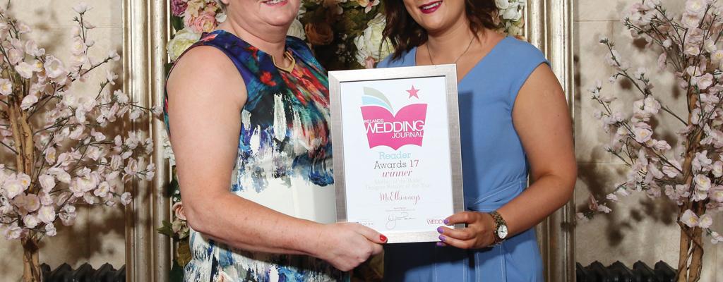 Wedding Journal Reader Awards 2017 - Mother of the Bride/Designer Retailer Award