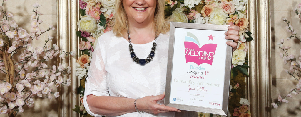 Wedding Journal Reader Awards 2017 - Outstanding Achievement Award