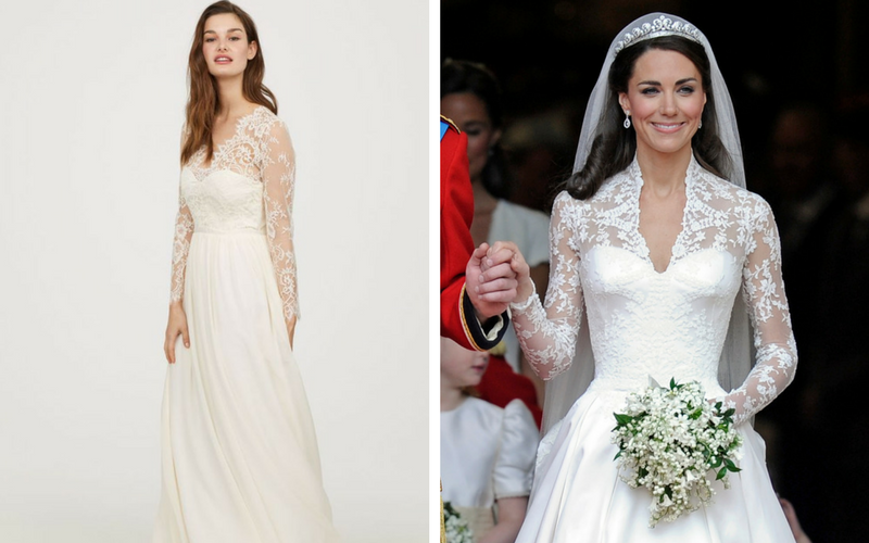 Hm Wedding Dress.H M Launches Copy Of The Infamous Royal Wedding Dress Wedding Journal