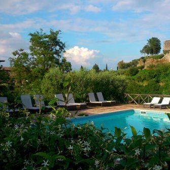 Borgo di Tragliata pool