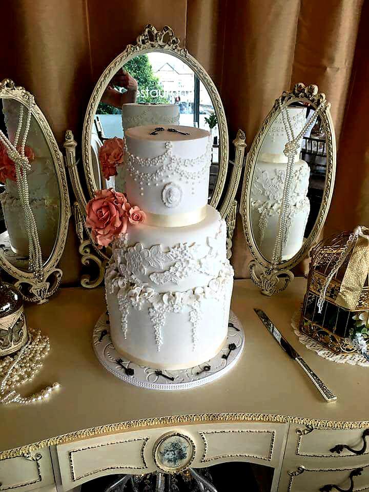 Celina's Cakes 2 tier