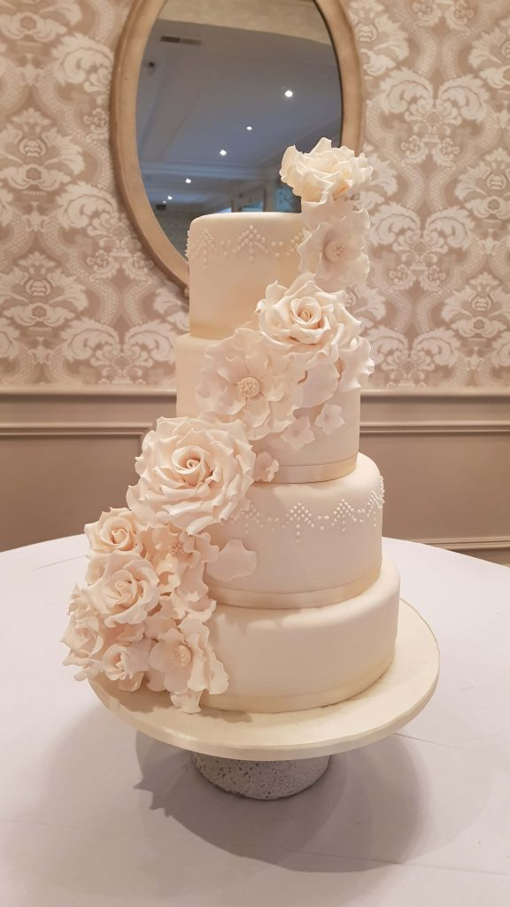 Celina's Cakes All White