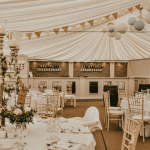 Drenagh House Estate Interior Marquee