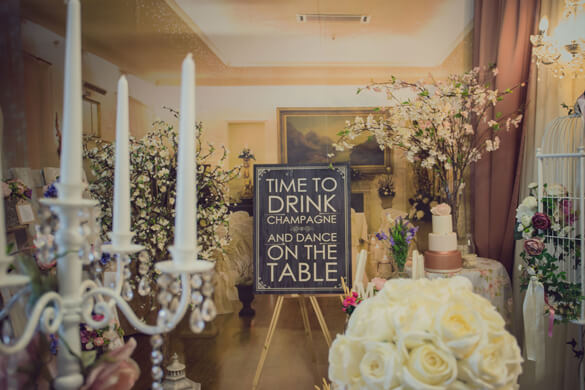 Fairy Tales Wedding & Event Specialists entrance