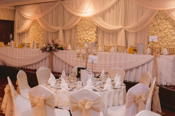 Fairy Tales Wedding & Event Specialists top table