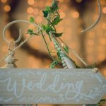 Fairy Tales Wedding & Event Specialists signs